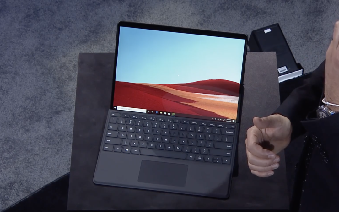 Microsoft launches the ARM-based Surface Pro X