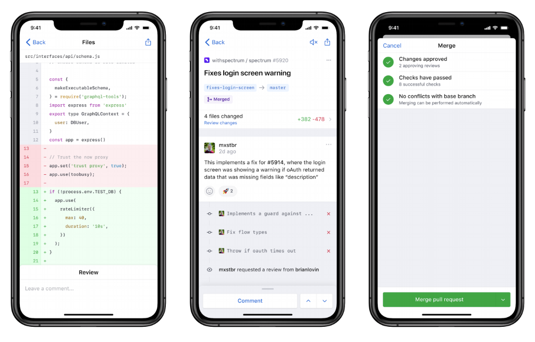 GitHub launches a mobile app, smarter notifications and improved code search