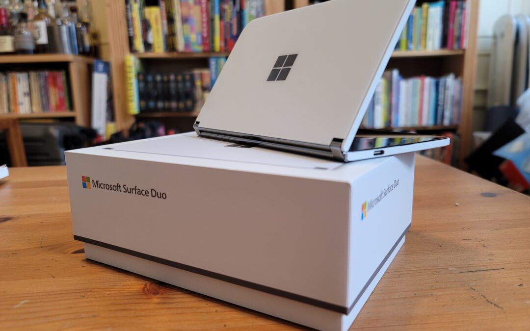 Here's the Surface Duo